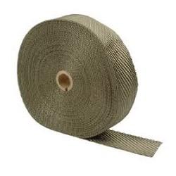 ΘΕΡΜΟΜΟΝΩΤΙΚΗ ΤΑΙΝΙΑ ΤΙΤΑΝΙΟΥ / TITANIUM THERMAL WRAP TAPE 5cm*10m