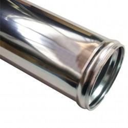 """ΣΩΛΗΝΑΣ ΑΛΟΥΜΙΝΙΟΥ Φ63.5 / 2.5"""" inch 60cm ΙΣΙΟΣ"""